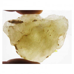 verre libyque LDG ( meteorite -Tectite - 051 )