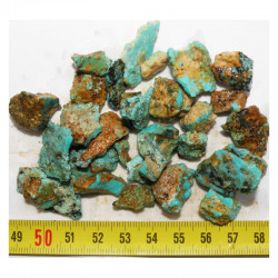 lot de turquoise Royston royal Blue - Nevada - USA ( 50 grs - 015 )