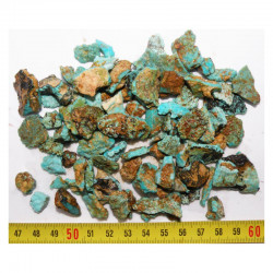 lot de turquoise Royston royal Blue - Nevada - USA ( 100 grs - 012 )