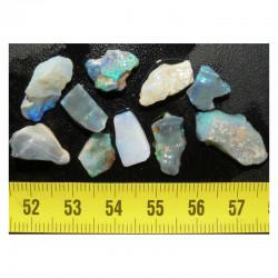 lot d opales naturelles ( Australie - 5 grs - 005 )