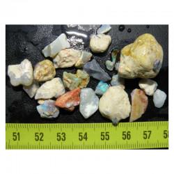 lot d opales naturelles L Ridge  ( Australie - 15 grs - 010 )