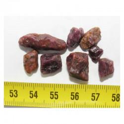 Lot de rubis bruts ( Madagascar - 10 grs - 016 )