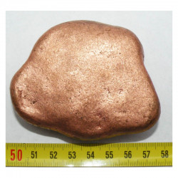 pepite de cuivre naturel ( USA - 533 grammes - 005)