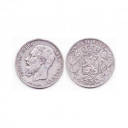 5 francs Leopole 2 1869 argent ( 005 )