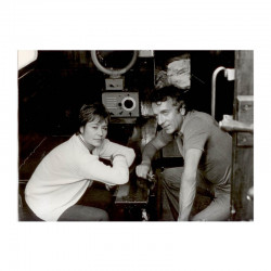 Photo originale de J.P. Cassel and Annie Girardot  ( ASA )