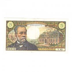 5 Francs Pasteur 01/08/1968 TTB +( 038 )