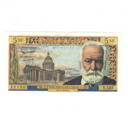 5 Francs Victor Hugo  01/07/1965 SUP ( 047 )