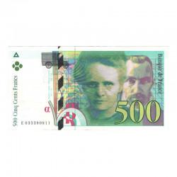 500 Francs Pierre et Marie Curie SUP 1995 ( 060 )