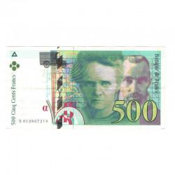500 Francs Pierre et Marie Curie SUP 1994 ( 081 )
