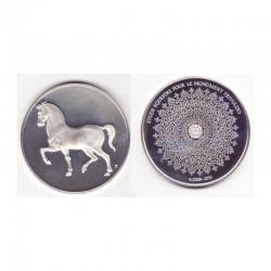 Medaille en argent Collection Leonard de Vinci ( 52 grammes - 009 )
