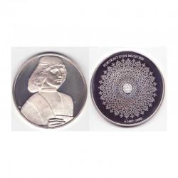 Medaille en argent Collection Leonard de Vinci ( 52 grammes - 013 )