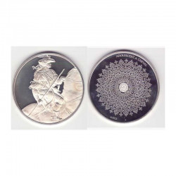 Medaille en argent Collection Leonard de Vinci ( 52 grammes - 046 )
