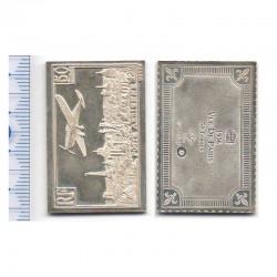 lingot d argent les plus grands timbres de France ( 002 )