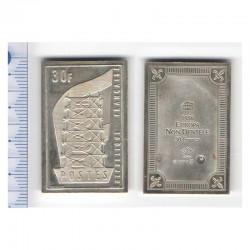 lingot d argent les plus grands timbres de France ( 006)