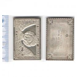 lingot d argent les plus grands timbres de France ( 008 )