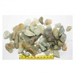 lot d aigue marine naturel ( Brazil - 500 grs - 015)