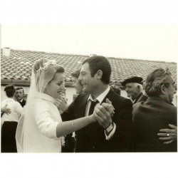 photo originale de C Deneuve et M Mastroiani ( AKW )