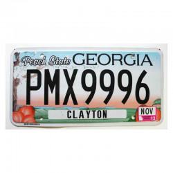Plaque d Immatriculation USA - Georgia ( 1199 )