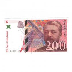 200 Francs Gustave Eiffel 1996 SUP + ( 139 )