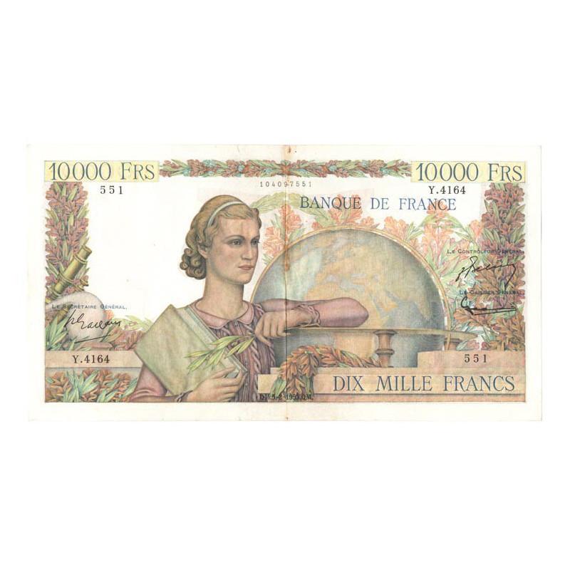 10000 F Genie Francais 05/02/1953 TTB ( 150 )