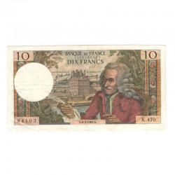10 Francs Voltaire 06/03/1969 TTB  ( 416 )