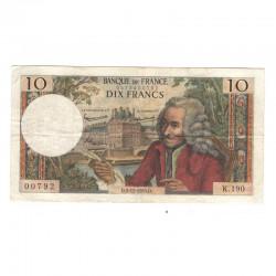 10 Francs Voltaire 05/11/1965 TTB ( 419 )