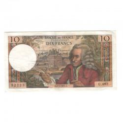 10 Francs Voltaire 08/05/1969 TTB ( 427 )