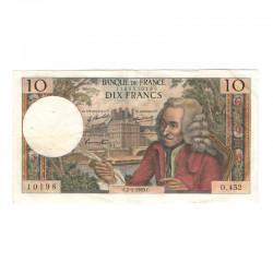 10 Francs Voltaire 02/01/1969 TTB ( 428 )