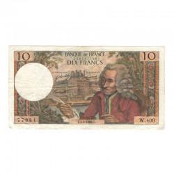 10 Francs Voltaire 04/04/1968 TTB ( 434 )