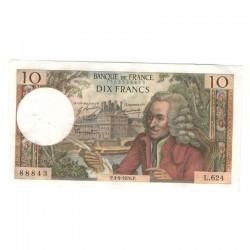 10 Francs Voltaire 03/09/1970 TTB +++ ( 443 )