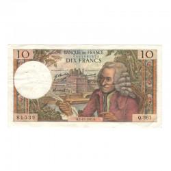 10 Francs Voltaire 02/11/1967 TTB + ( 444 )
