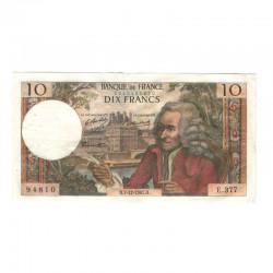 10 Francs Voltaire 07/12/1967 TTB + ( 445 )