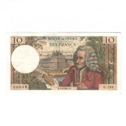 10 Francs Voltaire 05/01/1967 TTB ( 446 )