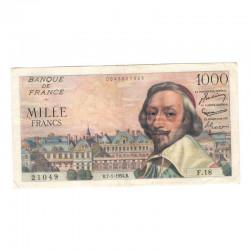 1000 F Richelieu 07/01/1954 TTB  ( 495 )