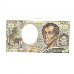 200 Francs Montesquieu 1988 Sup + V061 ( 517 )