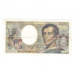 200 Francs Montesquieu 1992 SUP C105 ( 524 )