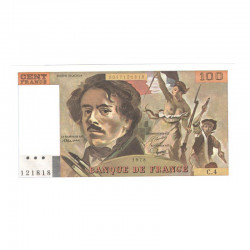 100 Francs Delacroix 1978 C4 Neuf ( 617 )