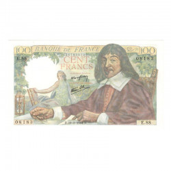 100 F Descartes 23/03/1944 Neuf ( 620 )