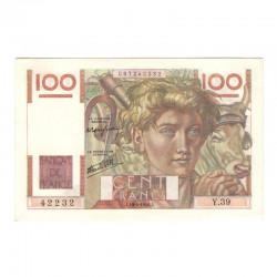 100 Francs Jeune Paysan 18/04/1946 SPL ( 621 )