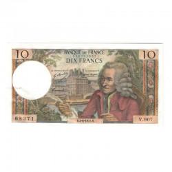10 Francs Voltaire 02/08/1973 SUP ( 639 )