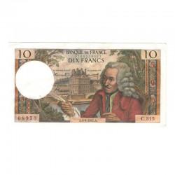 10 Francs Voltaire 06/04/1967 SUP ( 637 )
