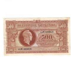 500 F Marianne  juin 1945 M TTB + ( 641 )
