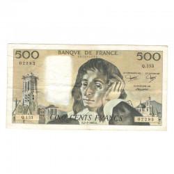 500 F Pascal 07/01/1982 TTB ( 652 )