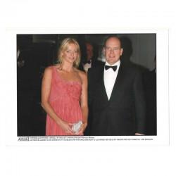 Photo originale Monaco Charlene et prince Albert GP Monaco 2007 ( 044 )