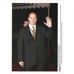 Photo originale Monaco prince Albert MIDEM 2005 ( 048 )