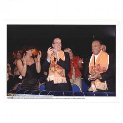 Photo originale Monaco Stephanie, Prince Albert, H Salvador - cirque 2007 ( 059 )