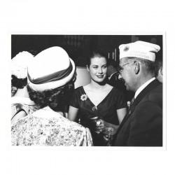 Photo originale Monaco Princesse Grace Kelly 1957 ( 074 )