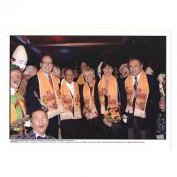 Photo originale Monaco Stephanie, Prince Albert, H Salvador , M Drucker - cirque 2007 ( 063 )