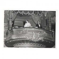 Photo originale Monaco Princesse Grace Kelly et Prince Rainier - 1957 ( 077 )