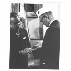 Photo originale Monaco  Prince Rainier - 1957 ( 078 )